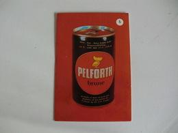 Drink Pelforth Brune Portugal Portuguese Pocket Calendar 1988 - Calendriers
