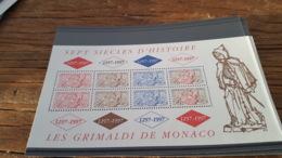 LOT 436454 TIMBRE DE MONACO NEUF** LUXE - Monaco