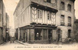 Vannes....maison De Gilles De Bretagne - Vannes