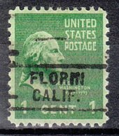 USA Precancel Vorausentwertung Preo, Locals California, Florin 729 - Préoblitérés