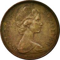 Monnaie, Grande-Bretagne, Elizabeth II, 2 New Pence, 1977, TTB, Bronze, KM:916 - 1971-… : Monnaies Décimales