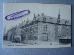 TIEGHEM : Gemeente Huis In 1902 - Belgique