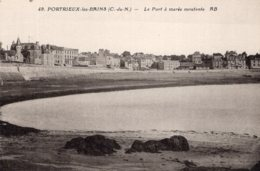 B55144 Portrieux Les Bains, Le Port à Marée Montante - France