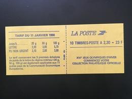CARNET MARIANNE DE BRIAT 2,30F ROUGE ADHESIF Y&T 2630-C 2 - Neuf, Non Plié, RGR-2 - Booklets