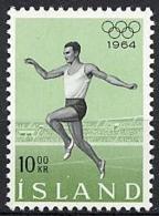 Iceland, 1964, Olympic Summer Games Tokyo, Running, MNH, Michel 387 - Islande