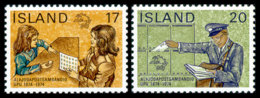 Iceland, 1974, UPU Centenary, Universal Postal Union, United Nations, MNH, Michel 498-499 - Islande