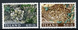 Iceland, 1967, Breeds, Eggs, Animals, Fauna, MNH, Michel 413-414 - Islande