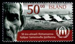 Iceland, 2001, United Nations High Commissioner For Refugees, UNHCR, MNH, Michel 976 - Islande