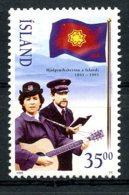 Iceland, 1995, Salvation Army, MNH, Michel 818 - Islande