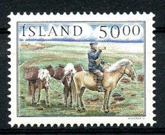 Iceland, 1997, Postal Service, Postman On Horse, MNH, Michel 879 - Islande