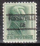 USA Precancel Vorausentwertung Preo, Locals California, Forestville 841 - Préoblitérés