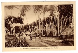CPSM Village Aux Iles Wallis Et Futuna Nouvelle Calédonie Océanie éditeur Braun & Cie Paris - Wallis-Et-Futuna