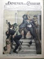 La Domenica Del Corriere 27 Febbraio 1910 Zimmern Himalaya Massenet Saint-Saens - Books, Magazines, Comics