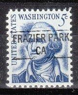 USA Precancel Vorausentwertung Preo, Locals California, Frazier Park 841 - Préoblitérés