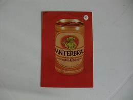 Drink Beer Kanterbrau Portugal Portuguese Pocket Calendar 1988 - Calendriers