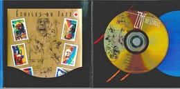 Frankreich Étoiles Du Jazz. BF No 50 ** + CD, Coffret Complet - Blocks & Kleinbögen
