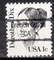USA Precancel Vorausentwertung Preo, Locals California, French Gulch 843 - Préoblitérés