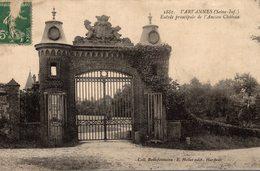 VARVANNES ENTREE PRINCIPAL DE L ANCIEN CHÂTEAU - France