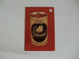 Drink Beer Schooner Portugal Portuguese Pocket Calendar 1988 - Calendriers