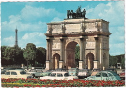 Paris: CITROËN 2CV, SKODA 1000 MB, PEUGEOT 403, VW KARMANN GHIA, RENAULT 4, SIMCA 1501, BREAK - L'Arc - Toerisme