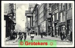 ROTTERDAM Boerenvischmarkt / Kaasmarkt / Oude Stadhuis Zeer Levendig Ca 1935 ? - Rotterdam