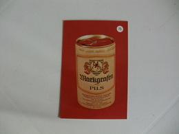 Drink Beer Lharkgrafen Pils Portugal Portuguese Pocket Calendar 1988 - Calendriers