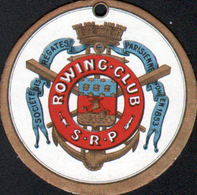 1941, ROWING-CLUB S.R.P., Société Des Regates Parisiennes - Chromos