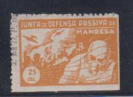 MANRESA (BARCELONA). EDIFIL NUM. 13* - Emisiones Nacionalistas