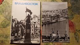 RUSSIA . Vladivostok  - Old USSR Postcard Lot  - 11 PCs 1981 Lenin Monument - Russie