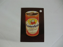 Drink Beer Kanterbräu Portugal Portuguese Pocket Calendar 1988 - Calendriers