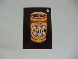Drink Beer Miitzig Portugal Portuguese Pocket Calendar 1988 - Calendriers