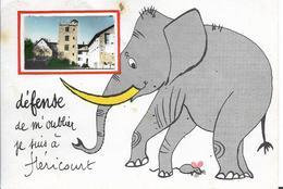 HERICOURT - Fantaisie - Eléphant - Luxeuil Les Bains