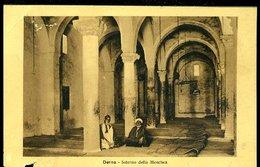 WD334 DERNA - INTERNO DELLA MOSCHEA - Libyen