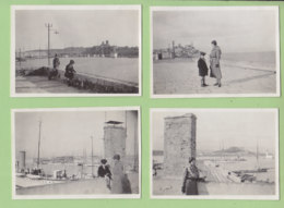 ANTIBES Pâques 1932 : 4 Photos - Lieux