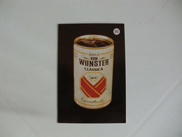 Drink Beer Von Wunster Classica Portugal Portuguese Pocket Calendar 1988 - Calendriers