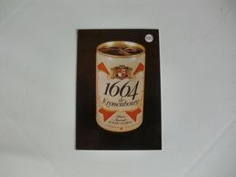 Drink Beer 1664 De Kronenboury Portugal Portuguese Pocket Calendar 1988 - Calendriers