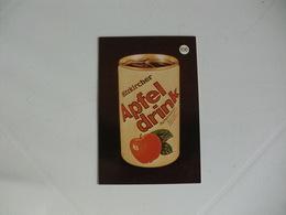 Drink Apfel Drink Portugal Portuguese Pocket Calendar 1988 - Calendriers