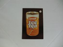 Drink Lipton Ice Tea Portugal Portuguese Pocket Calendar 1988 - Calendriers