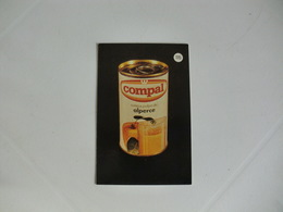 Drink Compal Alperce Portugal Portuguese Pocket Calendar 1988 - Calendriers