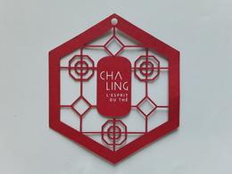 "CHA LING~~~ "" L'esprit Du Thé   ""  Superbe.   Photo  R/V!! - Perfume Cards"