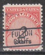 USA Precancel Vorausentwertung Preo, Locals California, Fulton 819 - Préoblitérés