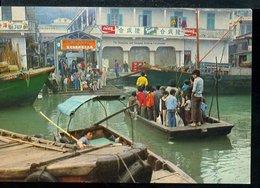 WD340 HONG KONG - FLOATING PEOPLE IN CASLE PEAK BAY - Cina (Hong Kong)