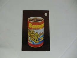 Drink Banga Sans Bulles Portugal Portuguese Pocket Calendar 1988 - Calendriers
