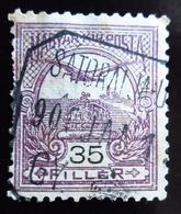1904 Hongrie Yt 66 (A) ;  Mythical Bird Turul Flying Over Crown Of St. Stephen - Gebraucht
