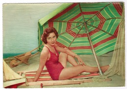 Baadster, Baigneuse Sur La Plage, Pin-up (pk52951) - Pin-Ups