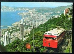 WD341 THE HONG KONG  PEAK TRAMWAY - Cina (Hong Kong)