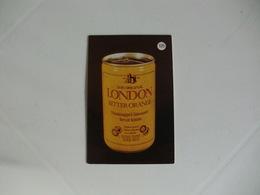 Drink London Bitter Orange Portugal Portuguese Pocket Calendar 1988 - Calendriers