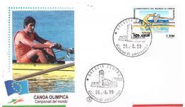 Fdc Filagrano: CANOA  1999; No Viaggiata; AF_Brescia - 6. 1946-.. Repubblica