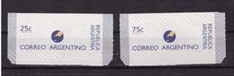Argentinien 2295 + 2296 I Mit Einpressungen 1996 Freimarken Postfrisch Sk - Argentinien
