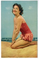 Baadster, Baigneuse Sur La Plage, Pin-up (pk52952) - Pin-Ups